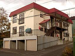 北海道小樽市オタモイ3丁目の賃貸アパートの外観