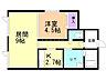 間取り,1LDK,面積36.46m2,賃料5.2万円,バス 函館バス市立函館高校前下車 徒歩6分,,北海道函館市本通1丁目23番28号