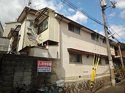 京都府京都市山科区日ノ岡石塚町の賃貸アパートの外観