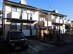愛知県名古屋市北区楠味鋺1の賃貸アパートの外観