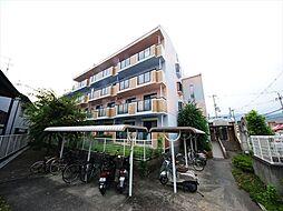 大阪府箕面市粟生外院2丁目の賃貸マンションの外観