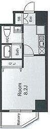 CASSIA天王寺東(旧名称:フェニックスレジデンス桑津)[0706号室]の間取り