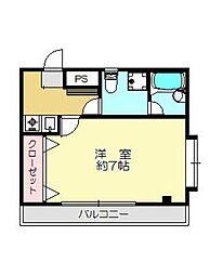 コンフォート鈴木[3階]の間取り