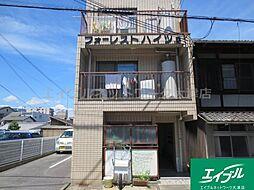 滋賀県大津市御幸町の賃貸アパートの外観