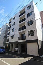 北海道札幌市中央区南十四条西6丁目の賃貸マンションの外観