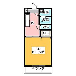 サンドリーム[1階]の間取り