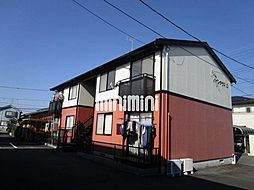 パインテラスA・B・C[2階]の外観