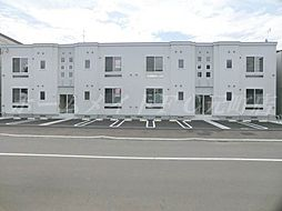 北海道札幌市東区北三十五条東12丁目の賃貸アパートの外観