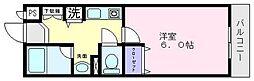 ルミエールマゴジ3[4階]の間取り