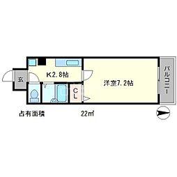 Casa Comoda[2階]の間取り