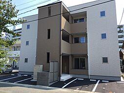 福岡県福岡市西区姪の浜3丁目の賃貸アパートの外観