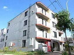 北海道札幌市白石区南郷通10丁目北の賃貸マンションの外観