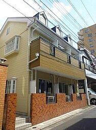 東京都江東区大島8の賃貸アパートの外観