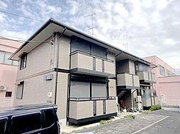 栃木県小山市城東6丁目の賃貸アパートの外観