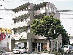 愛媛県松山市小栗5丁目の賃貸マンションの外観