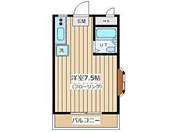 マンション松本[3階]の間取り