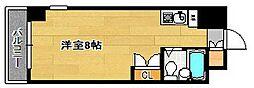 福岡県福岡市中央区唐人町1丁目の賃貸マンションの間取り