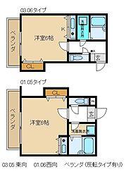 熊野道谷口マンション[2階]の間取り