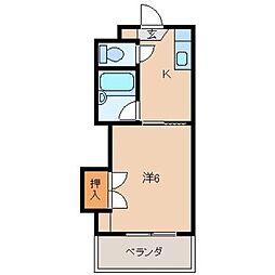 ヨットかわしまII[2階]の間取り