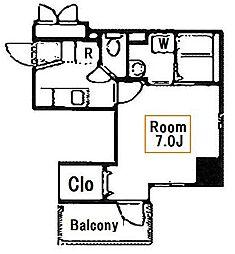 新築 ラウレア[6階]の間取り