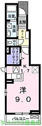 ノヴァ ビジュアル[102号室]の間取り