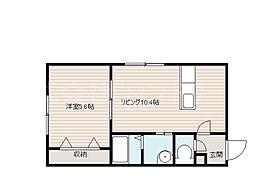 北海道札幌市中央区南十九条西7丁目の賃貸マンションの間取り