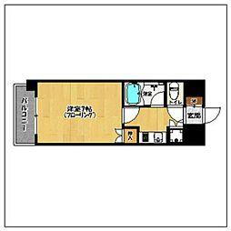 サンコーポ別府[4階]の間取り