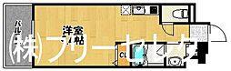 ウェリス箱崎[4階]の間取り