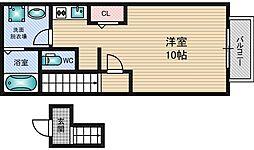 アネックス藤WEST[2階]の間取り