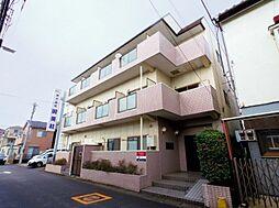 埼玉県川越市稲荷町の賃貸マンションの外観