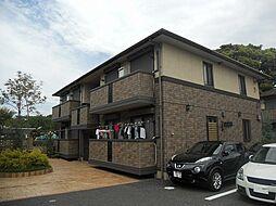 神奈川県平塚市南豊田の賃貸アパートの外観