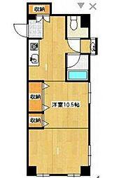 メルヴェイユ湘南[3階]の間取り