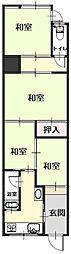 Osaka Metro今里筋線 清水駅 徒歩2分 4Kの間取り