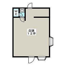 パナハイツ坂戸[1階]の間取り