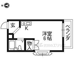 山陰本線 太秦駅 徒歩11分