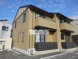 愛知県豊橋市牟呂町字松島東の賃貸アパートの外観