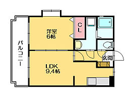 RIKOボヌール[3階]の間取り