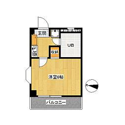 第二サンコート東戸塚[0304号室]の間取り