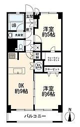 マンション(蒲田駅から徒歩10分、2DK、2,880万円)