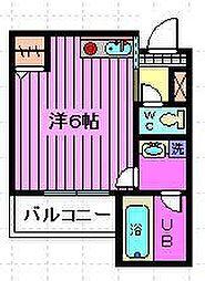 Sebo Sebo川口仲町[201号室]の間取り