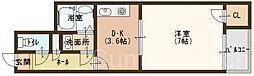 ブレスコート新金岡III[5階]の間取り