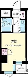 江戸川橋センチュリープラザ21[6階]の間取り