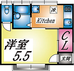 [一戸建] 兵庫県神戸市灘区城内通2丁目 の賃貸【/】の間取り