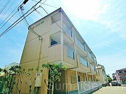 大阪府堺市北区百舌鳥陵南町3丁の賃貸マンションの外観