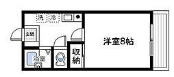 桜ヶ丘アパートメント[2階]の間取り