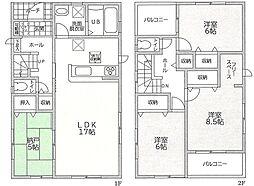 志染駅 2,380万円