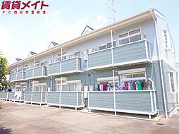 三重県四日市市東坂部町の賃貸アパートの外観