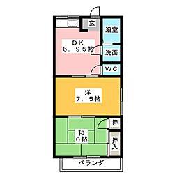 アイテック7[1階]の間取り
