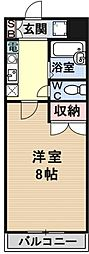 若草フェニックスマンション[307号室号室]の間取り