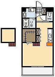 (新築)神宮外苑 西棟[402号室]の間取り